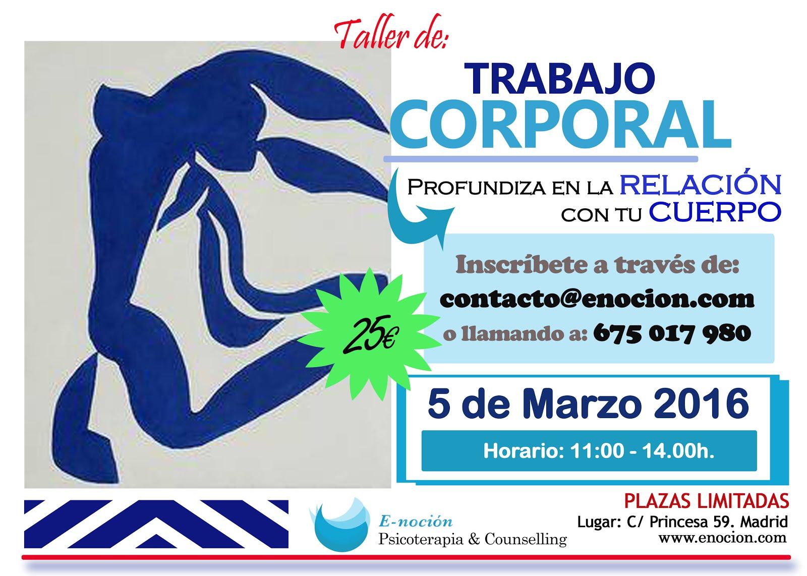 Trabajo Corporal Madrid
