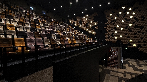 Pixel Cinema in Wuhan by One Plus Partnership