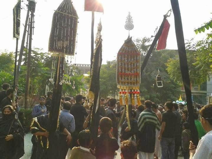 Tazia Procession in Noida during Muharram
