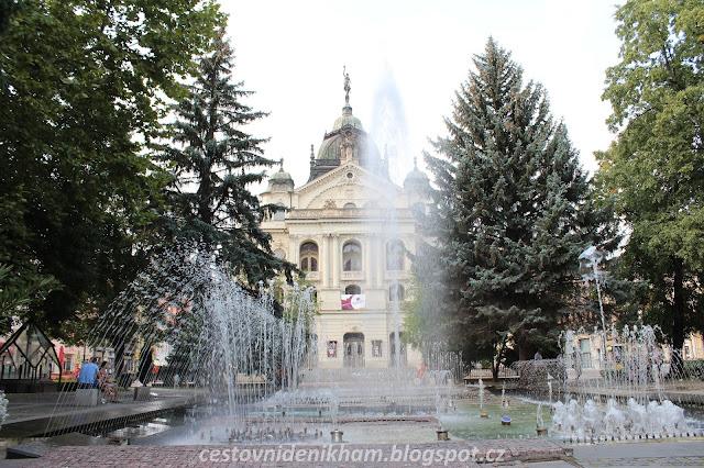 zpívající fontána // The Singing Fountain in Košice