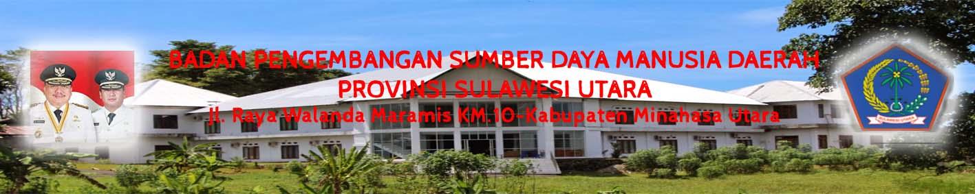 Badan Pengembangan Sumber Daya Manusia Daerah Provinsi Sulawesi Utara