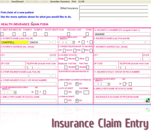Insurance Claim Entry Services