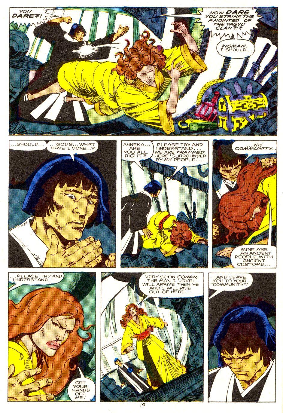 Conan the Barbarian (1970) Issue #207 #219 - English 11