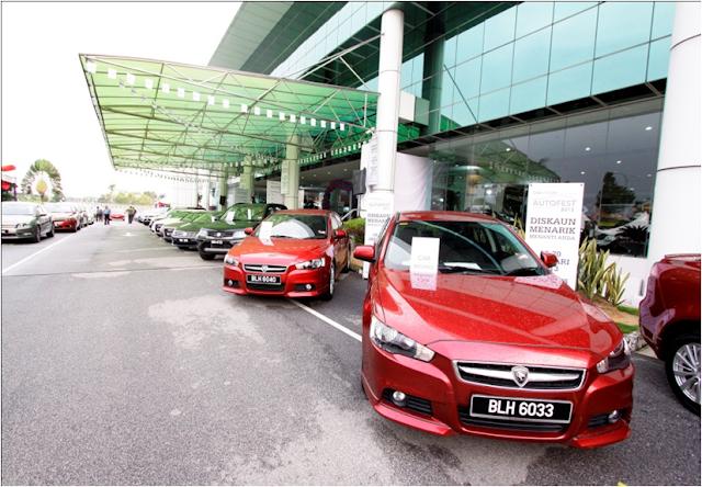 Proton, Lotus, Audi, Volkswagen, Honda, Suzuki, Mitsubishi, Isuzu, Modenas and Can-Am Spyder at drb hicom autofest 2013