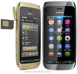 tipe nokia asha layar sentuh murah, hp nokia asha dual sim murah, spesifikasi lengkap ponsel seri asha