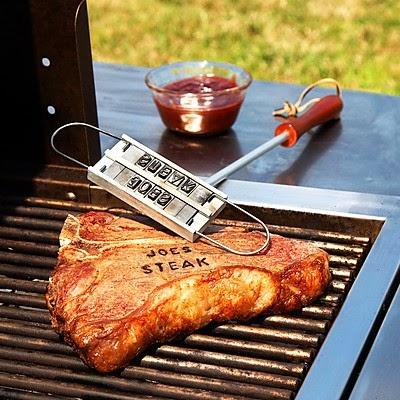 Hierro Marcador Carne a la barbacoa