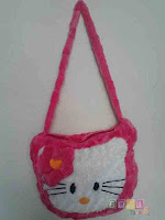 Tas Hello kitty warna pink fanta