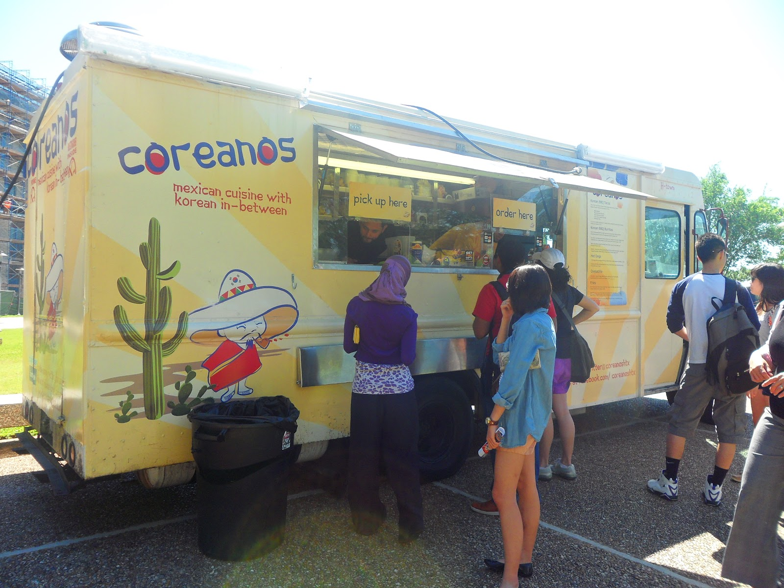 Coreanos food is mexican cuisine with korean in between the menu has dishes such as korean bbq tacos and burritos quesadillas fries and the most
