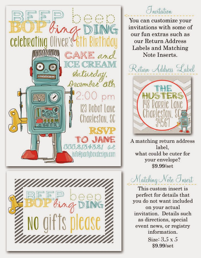 http://www.partyboxdesign.com/item_1402/Robot-Birthday-5x7.htm