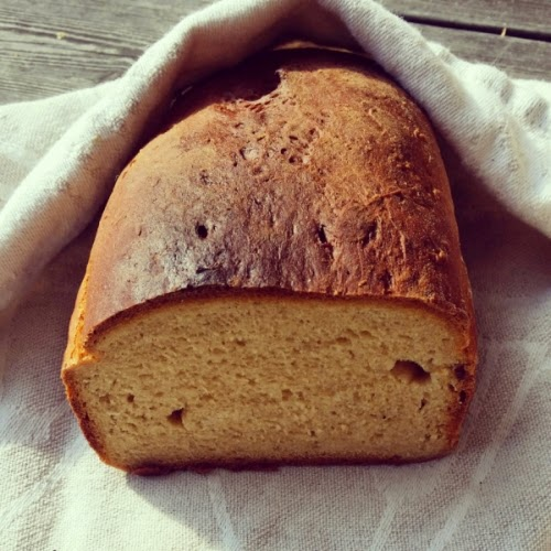 baka bröd med kvarg