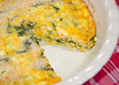 This Mommy Cooks: Crustless Spinach and Cheese Quiche