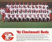 CINCINNATI REDS BASEBALL: REDS VS. ASTROS (SEPTEMBER 21, 1985)