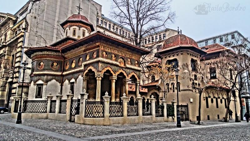 biserica stavropoleos bucuresti hdr