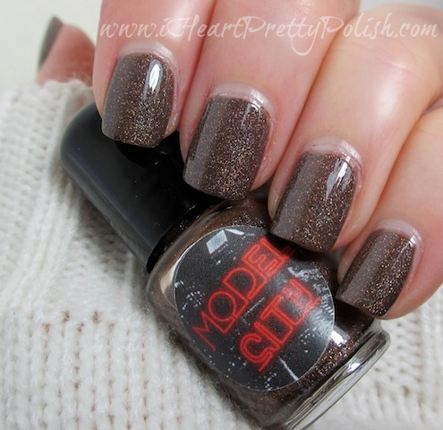 Model City Dipping Chocolate OPI You Don't Know Jacques