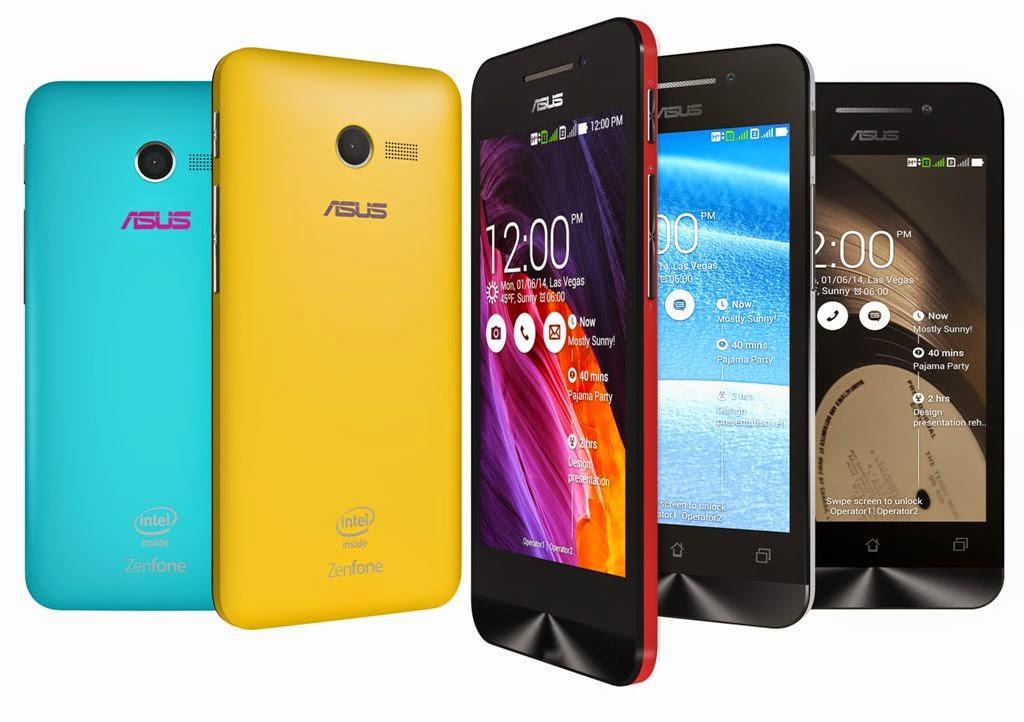 ZenFone 4 Smartphone dengan layar 4 inci