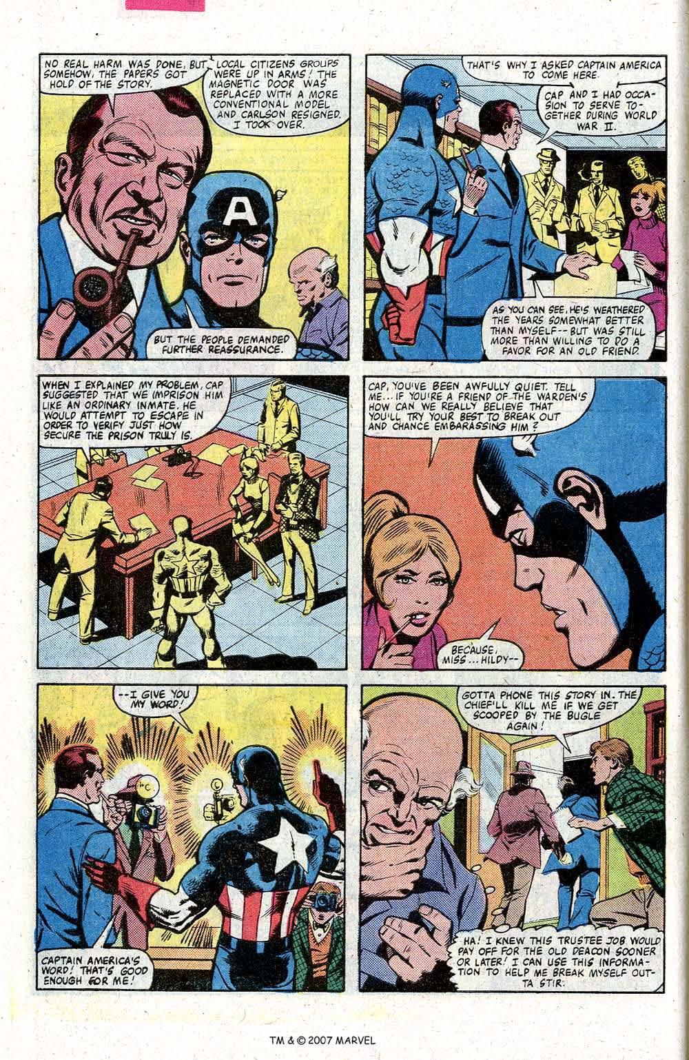 Captain America (1968) Issue #260 #175 - English 10