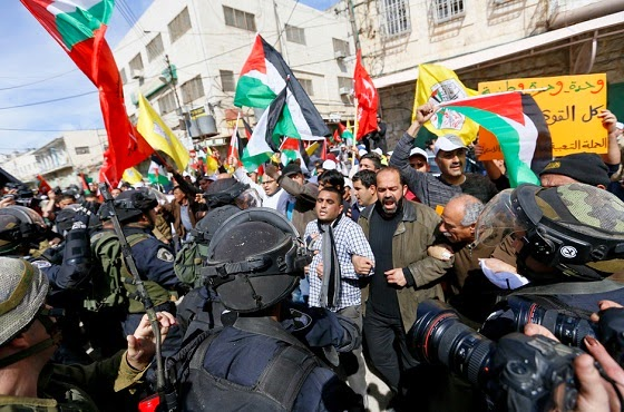 hebron protest
