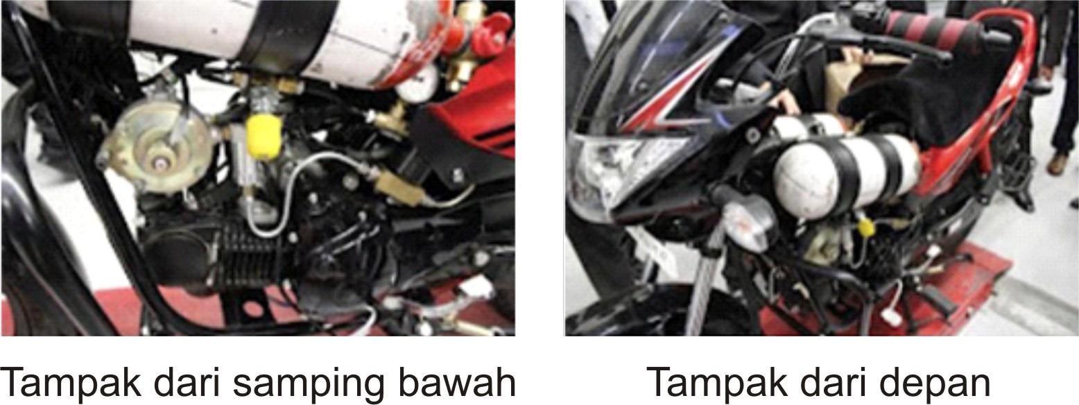 Solusi Bahan Bakar Gas dan Tabung Pada Penggunaan BBG di Motor