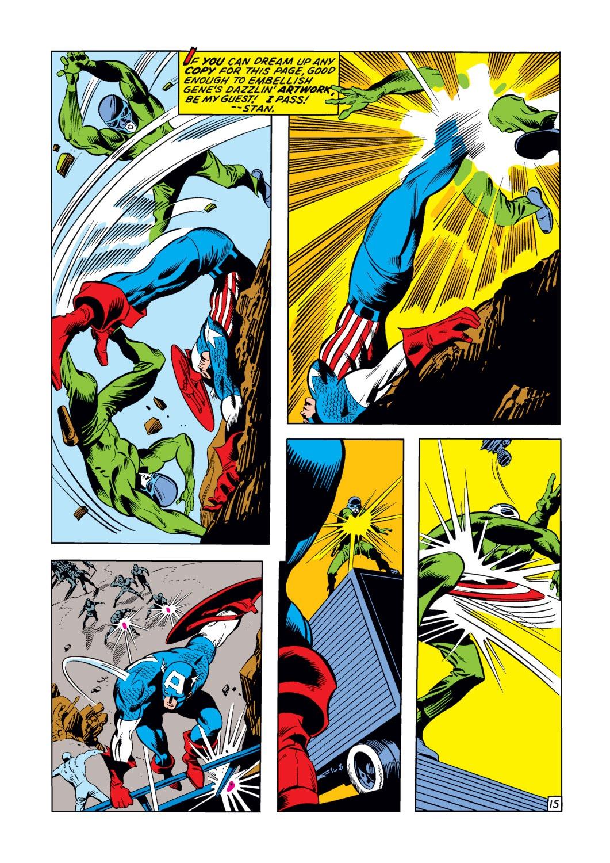 Captain America (1968) Issue #123 #37 - English 16