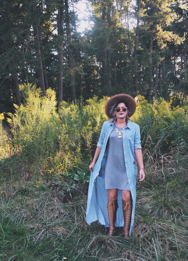 Cleveland Ohio Fall Fashion - alternative boho style