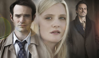 Charlie Cox, Romola Garai and Andrew Scott as Charles, Anna and Viktor in BBC2's Legacy