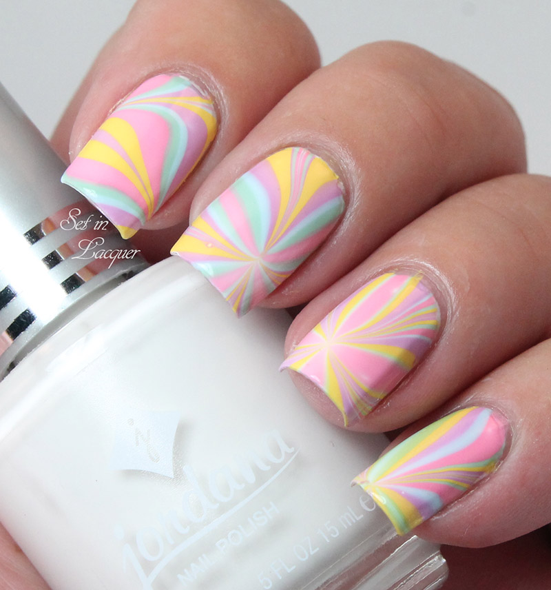 Jordana Cosmetics - water marble with the Playful Pastels Collection ...