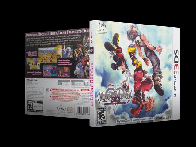 Capa Kingdom Hearts 3D Dream Drop Distance 3DS