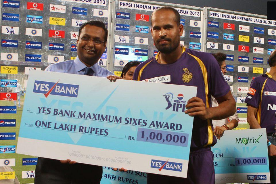 Yusuf-Pathan-Maximum-Sixes-KKR-vs-DD-IPL-2013