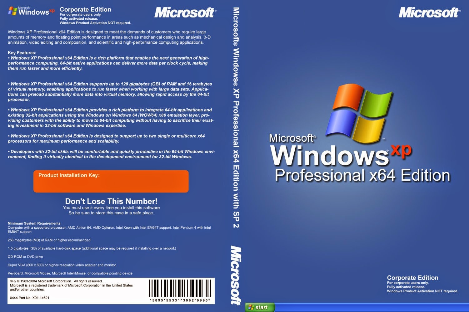 windows xp fully activated iso