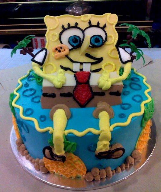 3d birthday cake