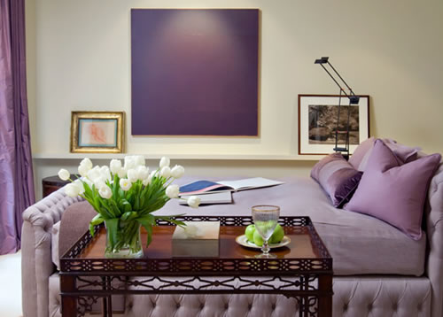Interior Design Ideas Purple Color