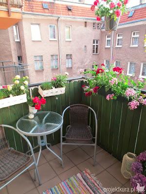 balkon inspiracje projektura