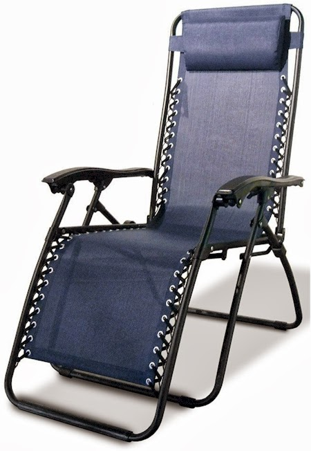 This Caravan Canopy Zero Gravity Reclining Chair With Adjustable Headrest  In Either Beige/black Or Blue/black Is At Itu0027s Lowest Price Ever Posted On  Amazon, ...