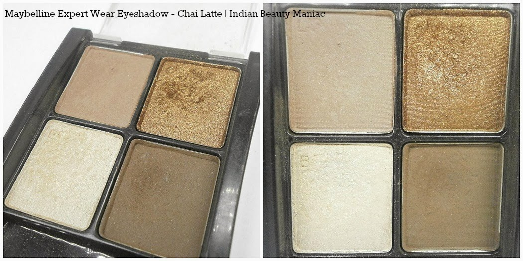 Maybelline New York Expert Eyes Chai Latte Eye Shadow Quad