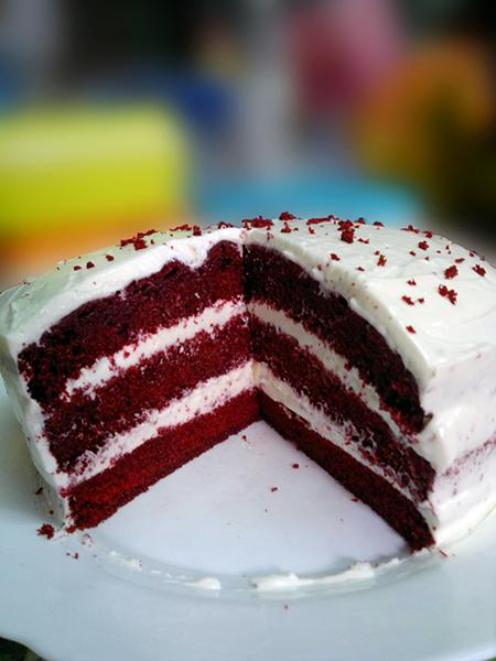 Resepi Red Velvet Cake