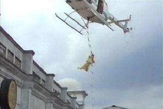 lompat tali tangga helikopter