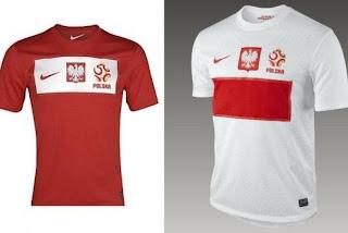 Kostum Polandia Euro 2012