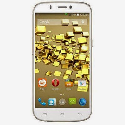 Snapdeal: Buy Micromax Canvas Gold A300 at Rs.12761