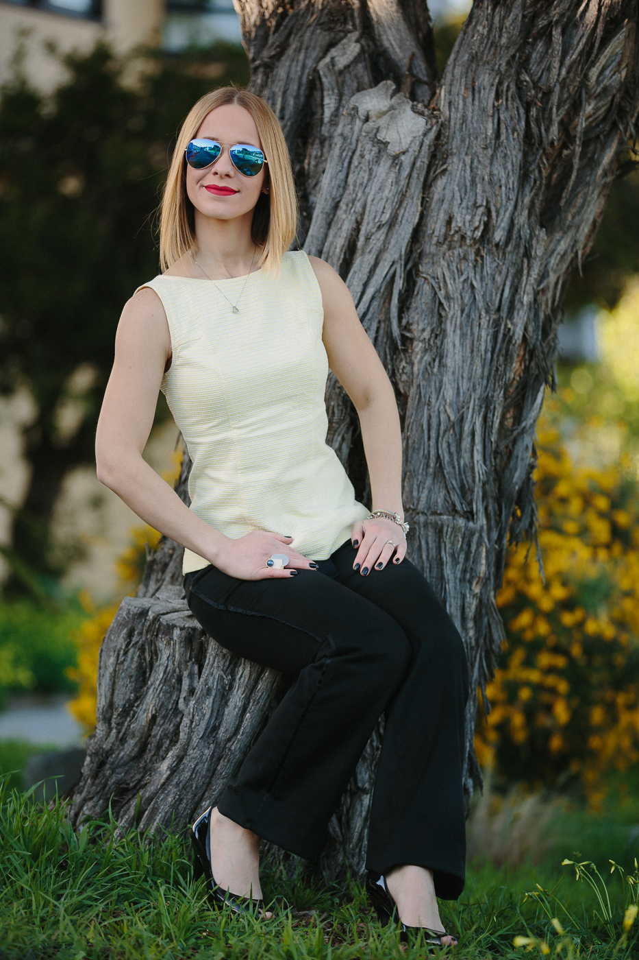Fashion blogger San Francisco