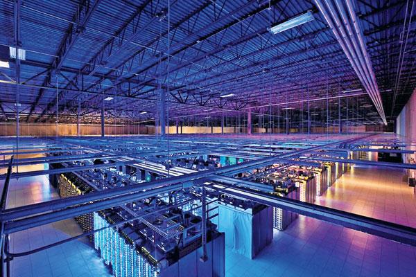 IMEJ yang tidak bertarikh menunjukkan sebuah pusat data Google di Hamina, Finland.