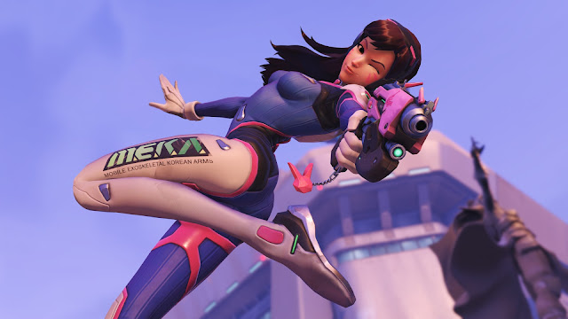 Overwatch meka korean lady