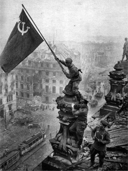 La bataille de Berlin durant la 2eme guerre mondiale