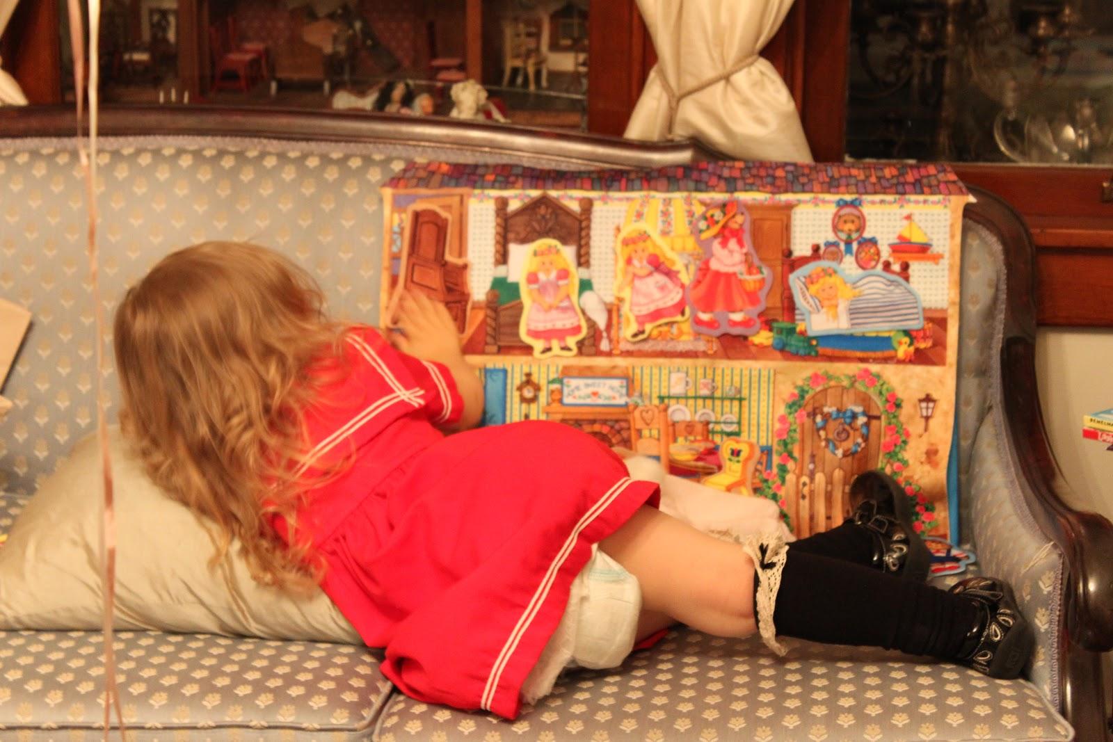 Little Girls in Knee Socks