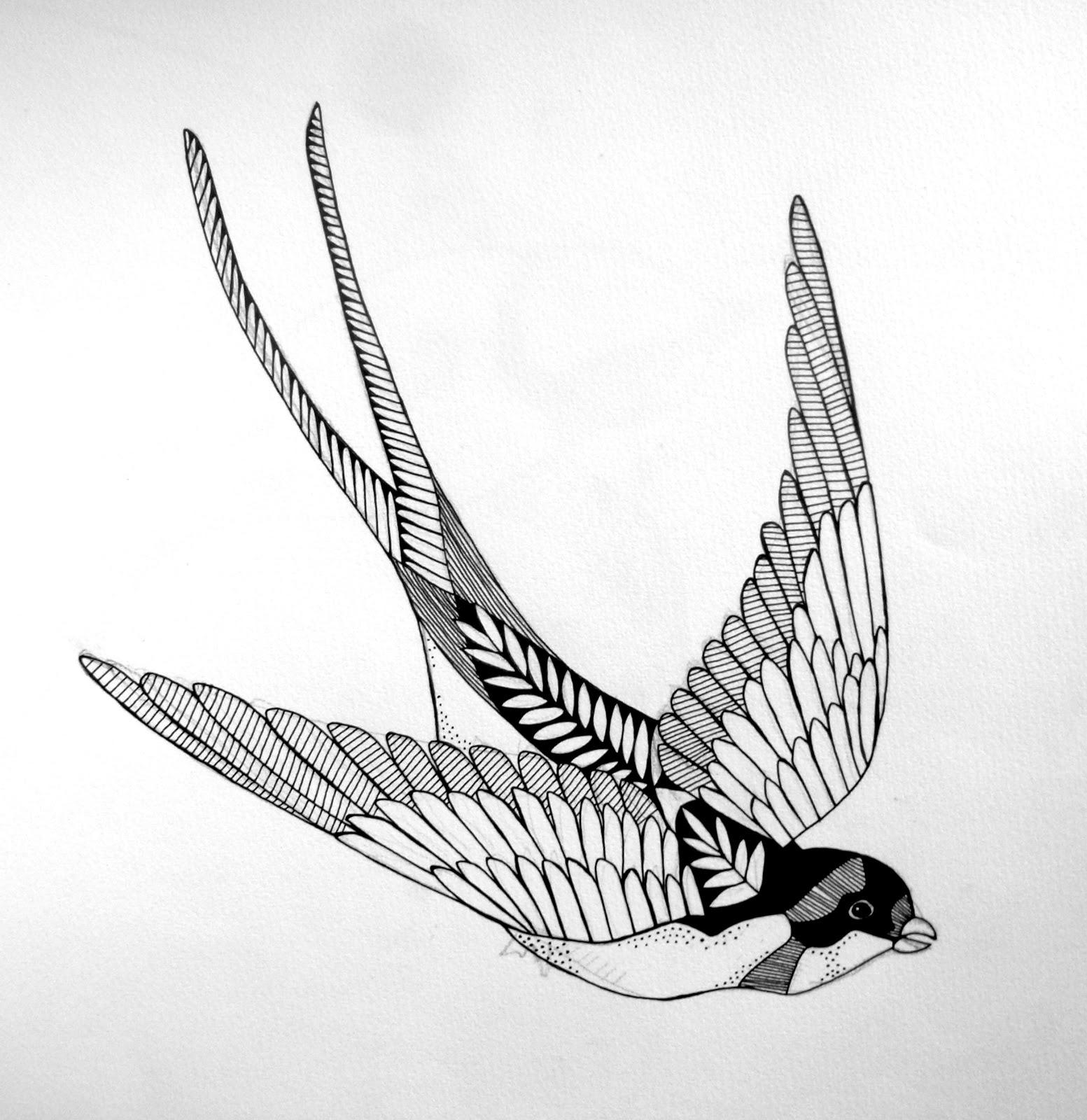 tattoo schwalbe
