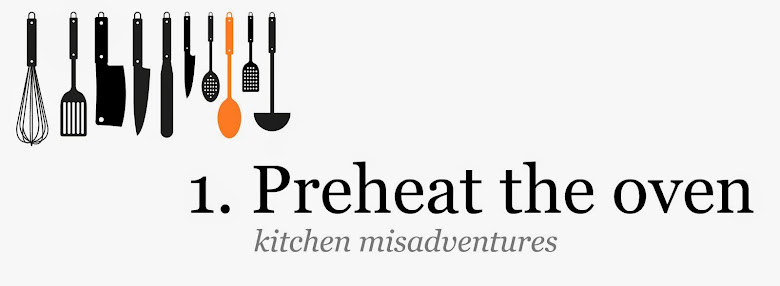 1. Preheat the oven