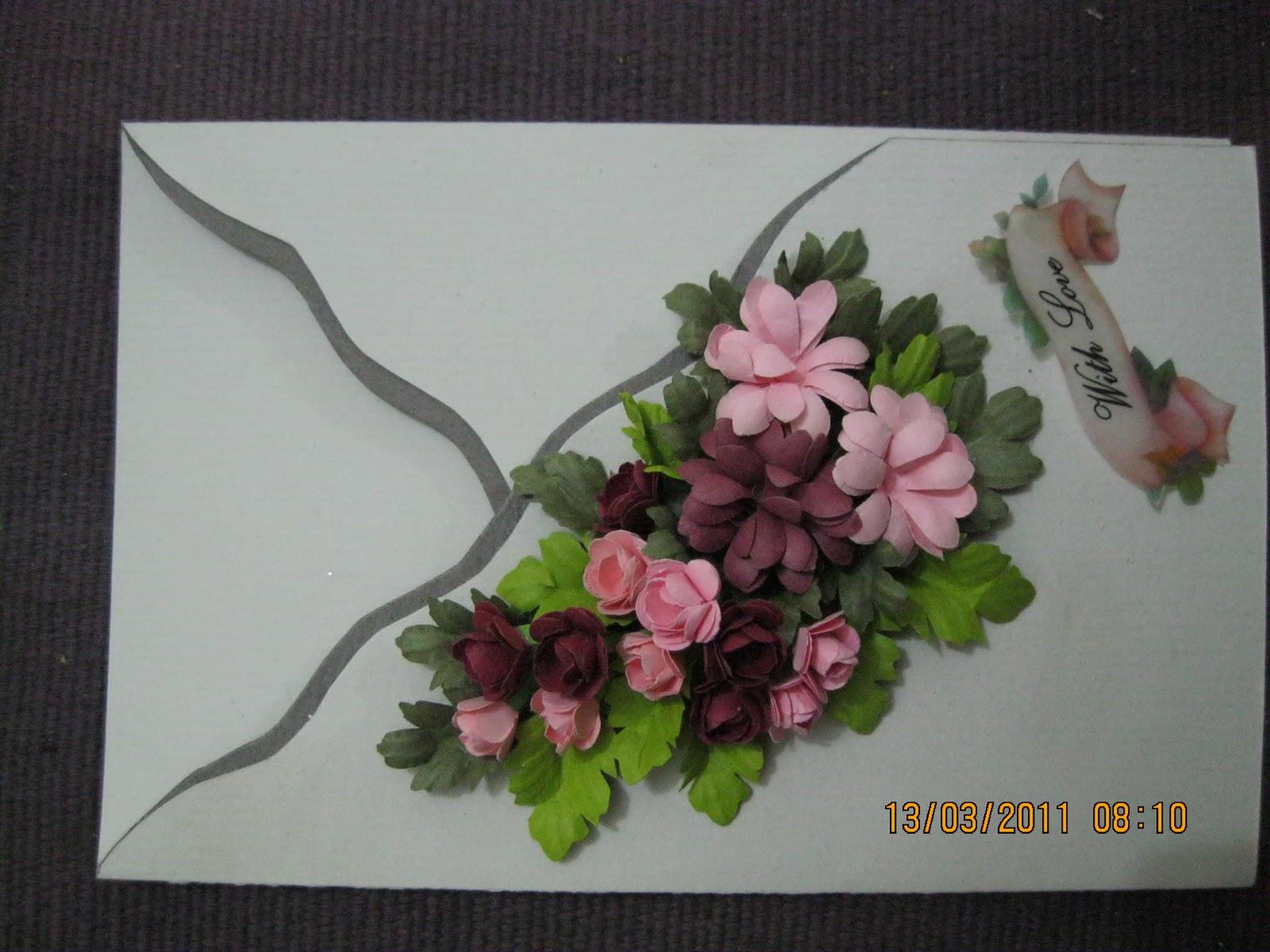 Aura craft miniature punch craft greeting cards for Image craft greeting cards