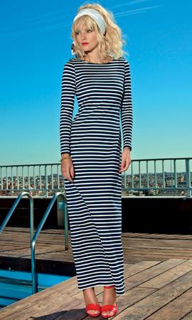 Dolores Promesas colección Resort 2013 vestido largo