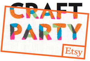 Etsy Craft Party – Friday, June 6, 2014 at Sew Katie Jean in Lincoln – RSVP NOW!