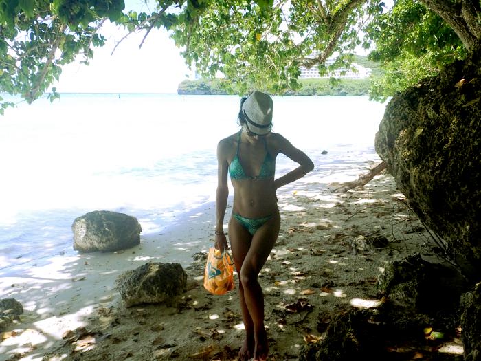 EV Guam beach Tumon Bay