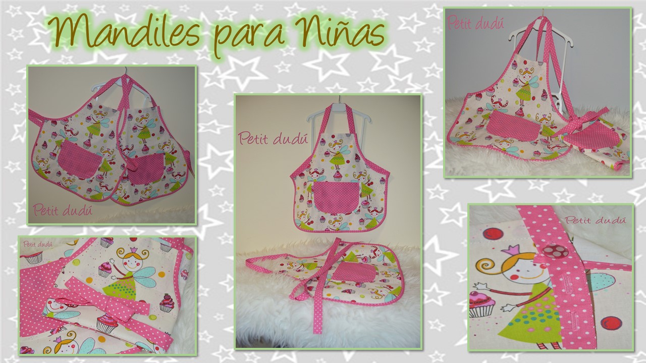 MANDILES DE NIÑA: